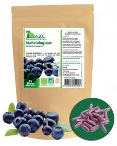 Acheter des gélules d'açaï bio sur Biologiquement.com